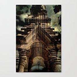thousand years series (death) Canvas Print