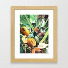 FERTILE CRESCENT Framed Art Print