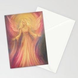 Angel Light Love - Spiritual painting Stationery Cards