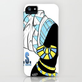 BlackQueen (Blue) iPhone Case