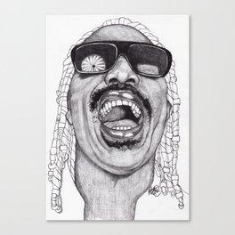 Stevie  Canvas Print