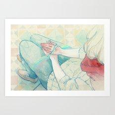Sin Valentín Art Print