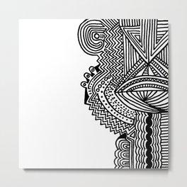 SPCSHP Pineal Metal Print
