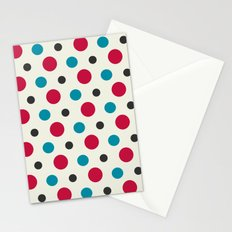 Like a Leaf [spots] Stationery Cards