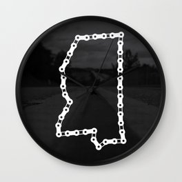 Ride Statewide - Mississippi Wall Clock