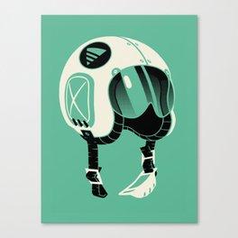 Super Motherload - Keep Helmet On Canvas Print