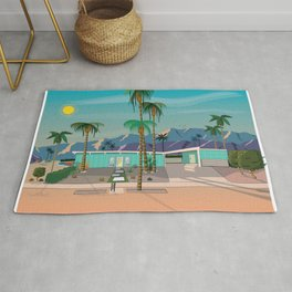 Palm Springs Vacation Home Rug