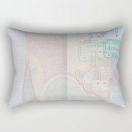 Passport Rectangular Pillow