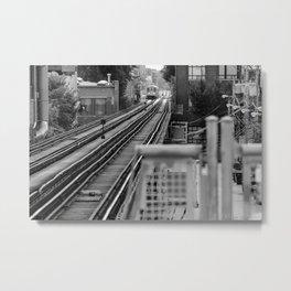 Cta tracks Metal Print