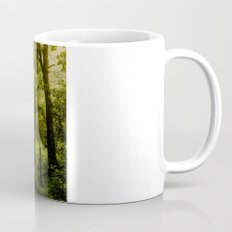 Misty Woodland Lane Coffee Mug