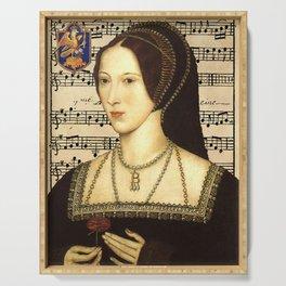 Musical Queen Anne Boleyn Serving Tray
