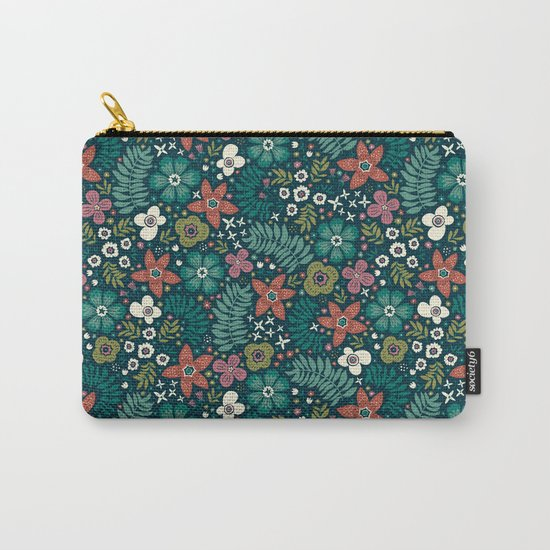 Secret Meadow Carry-All Pouch