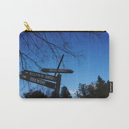 Street Signs in Black Creek Pioneer Village - Toronto, ON, Canada Carry-All Pouch