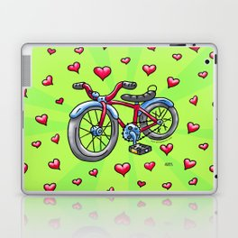 Bike Love Laptop & iPad Skin