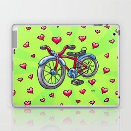 Bike Love Laptop & iPad Skin