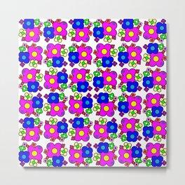 Celebrate Flowers Metal Print