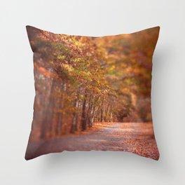 Autumn Walk Throw Pillow
