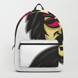 Corsair With Eye Patch Mascot Backpack