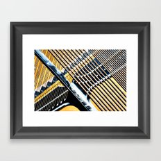 Dusty Strings Framed Art Print