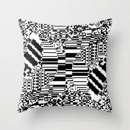 noisy pattern 10 Throw Pillow