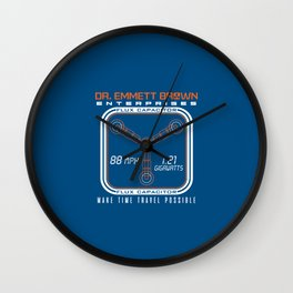 Make time travel possible Wall Clock