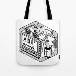 Arup WeWork West Project Patch Tote Bag