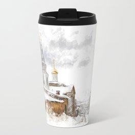 Russian landscape Travel Mug