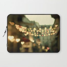 Looking for Love - Paris Hearts Laptop Sleeve