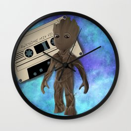 Awesome mix vol. 1 Wall Clock