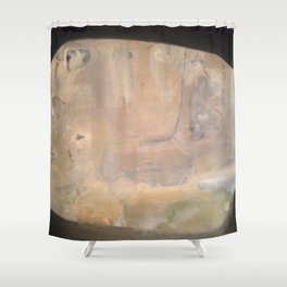 elsewhere tablet Shower Curtain