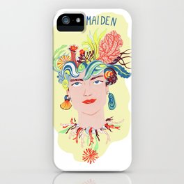 Sea Maiden  iPhone Case