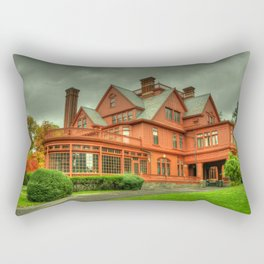 Edison's Mansion  Rectangular Pillow