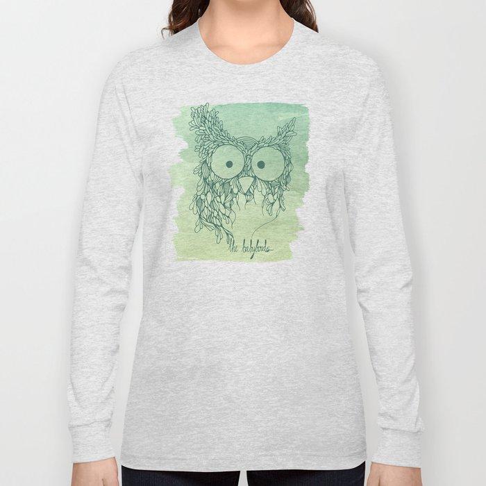 The Babybirds Owl 02 Long Sleeve T-shirt