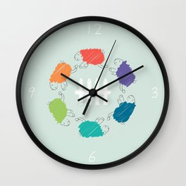 A Dream Where You Dreamt of Me Wall Clock