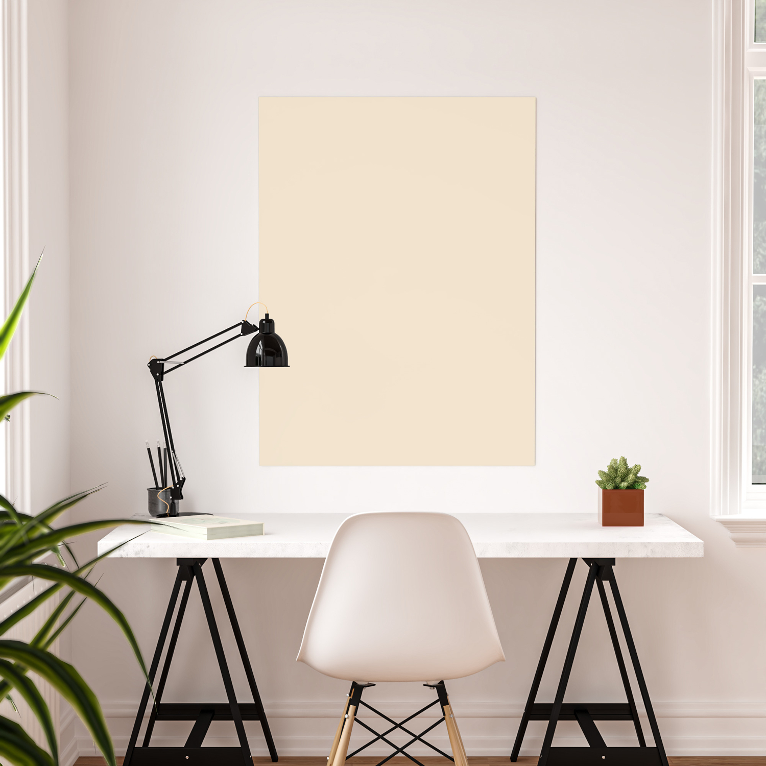 Ppg Glidden Magnolia Blossom Light Tan Ppg1090 1 Solid Color Poster By Simplysolids Society6