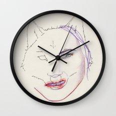 Dégoutée Wall Clock