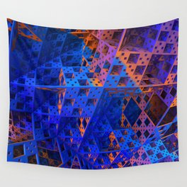 Orderly Disorder Wall Tapestry