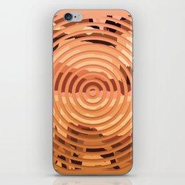 TOPOGRAPHY 2017-000 iPhone Skin