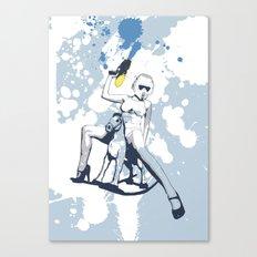 Scout Squirt Canvas Print