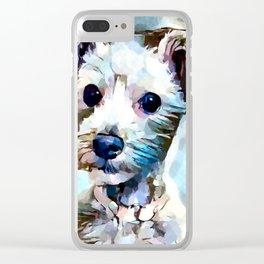 Schnoodle 3 Clear iPhone Case