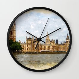 The Palace of Westminster Wall Clock