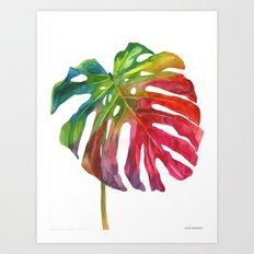Leaf vol 2 Art Print