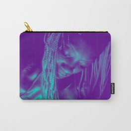 Subdued, teal Carry-All Pouch