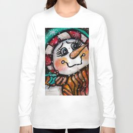 That Snow Woman Long Sleeve T-shirt