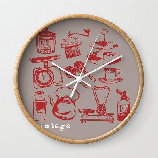 kitchen vintage Wall Clock