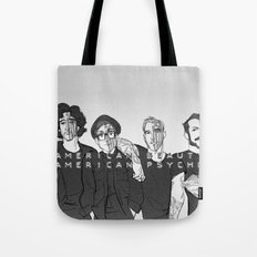 We're Just Resurrection Men Tote Bag