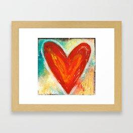 Deep in Love Framed Art Print