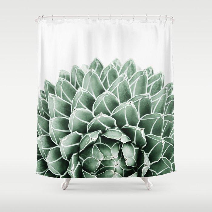 Succulent Splendour Shower Curtain