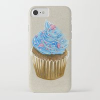 "cupcake iPhone & iPod Cases featuring ""Cupcake"" by Allana Vazquez"