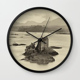 Castle Stalker Wall Clock